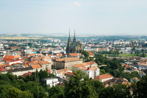 Brno View from Spilberk